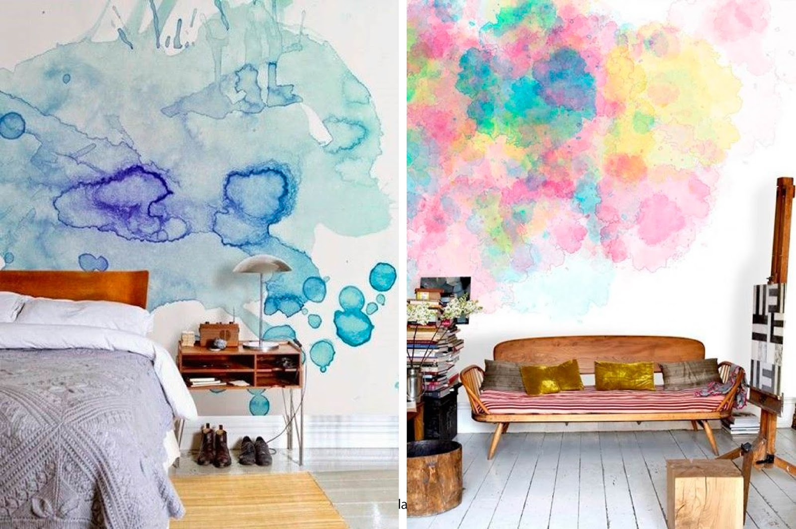 Formas de pintar una pared papel pintado infantil de - Formas de pintar paredes interiores ...