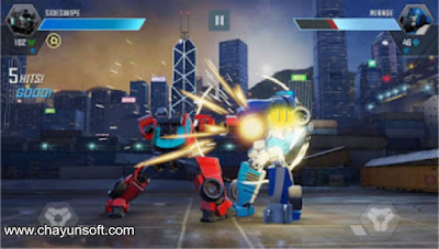Download Transformers Forged to Fight