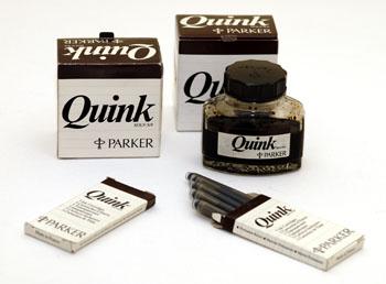 Parker Quink Brown castanho
