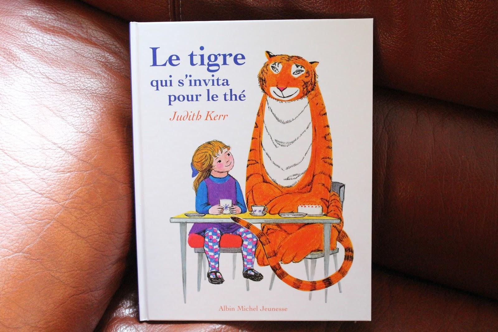 Judith Kerr tigre qui est venu à thé book kids Mémoire Skill défi jeu de carte