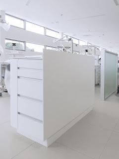 mobiliario clínico isla 4