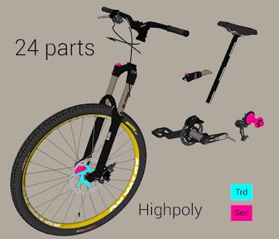 gta sa mod tuning mod 3d parts banshee rampant bike bicicleta