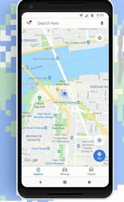 Aplikasi Google Maps
