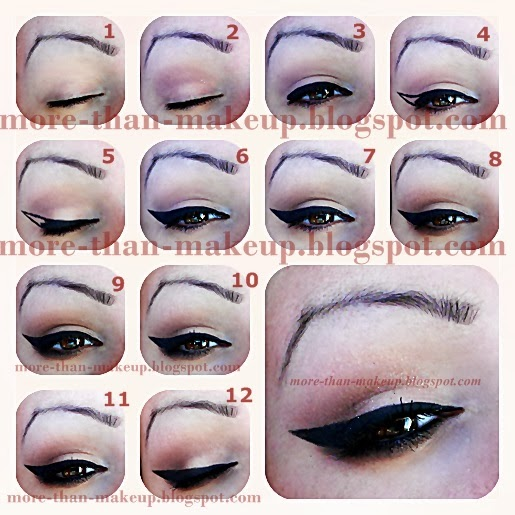 Top ❤ MORE THAN MAKEUP: Everyday makeup and how I apply eyeliner  GO29