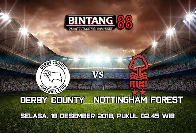 Prediksi Derby County Vs Nottingham Forest 18 Desember 2018