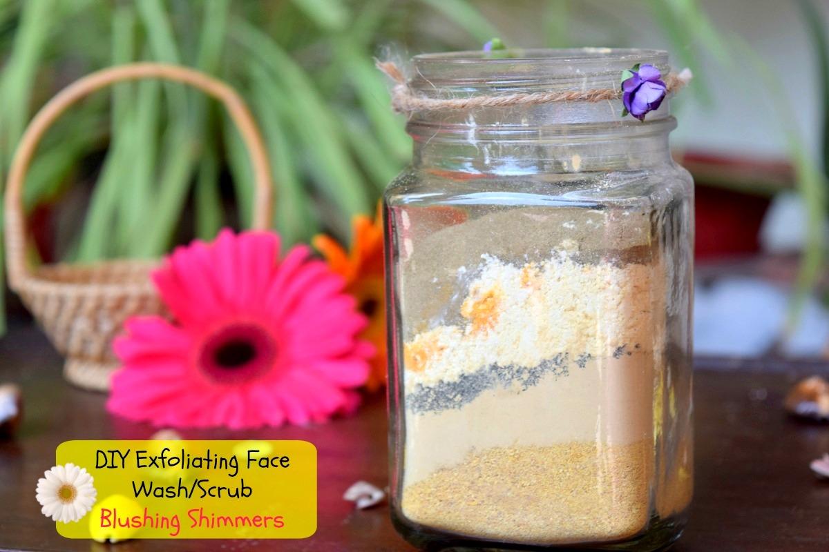 DIY Exfoliating Face Wash