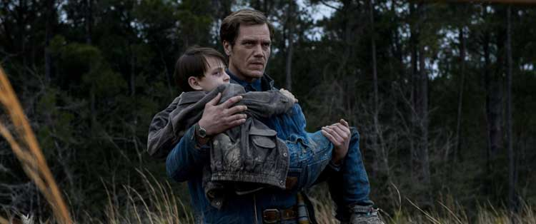 Michael Shannon helps his son in Jeff Nichols' Midnight Special.