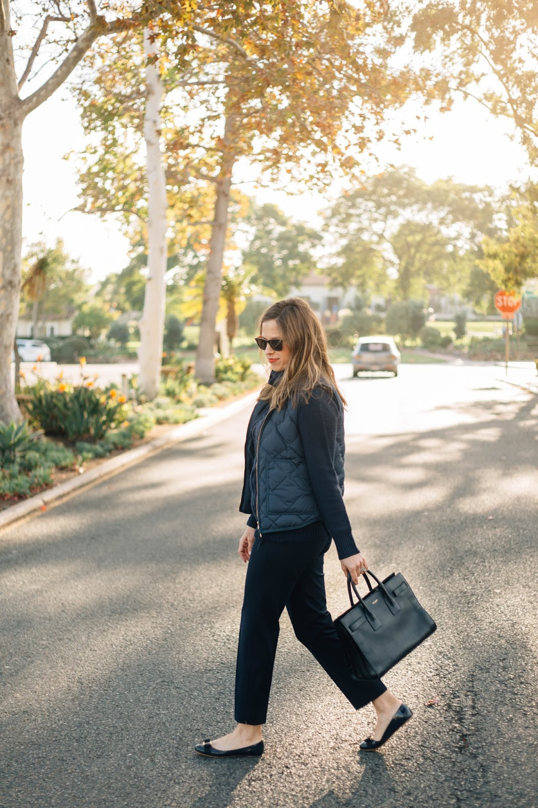 all navy outfit