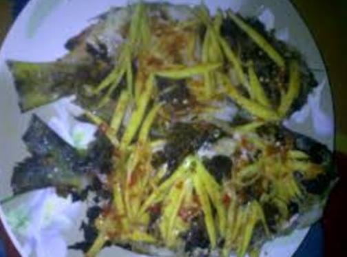 Ikan Bakar Sambal Mangga pedas hot jeletot lada