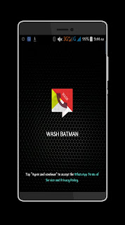 WASH v4.0 Mod WhatsApp Batman