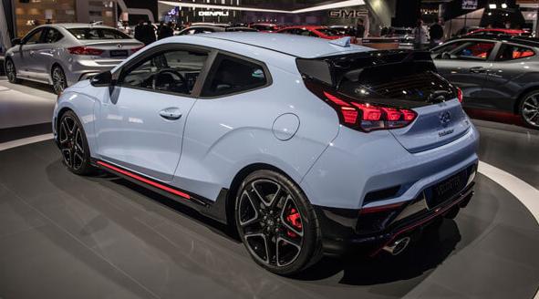 2020 Hyundai Veloster specs
