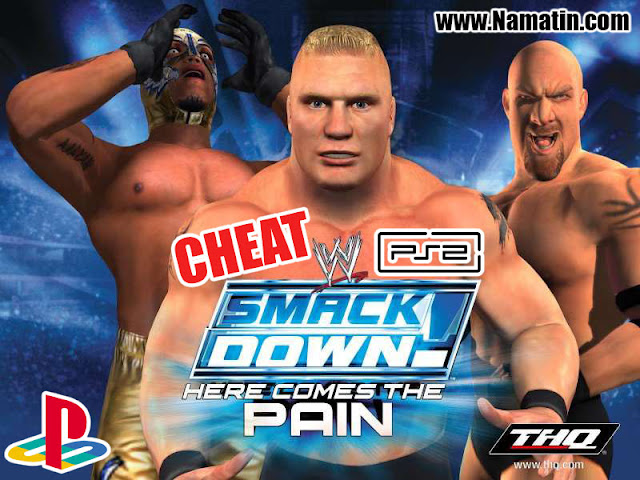 cheat smackdown pain ps2