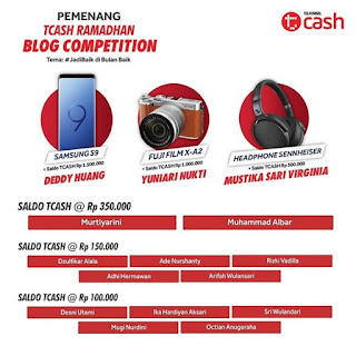 lomba blog TCash ramadhan telkomsel