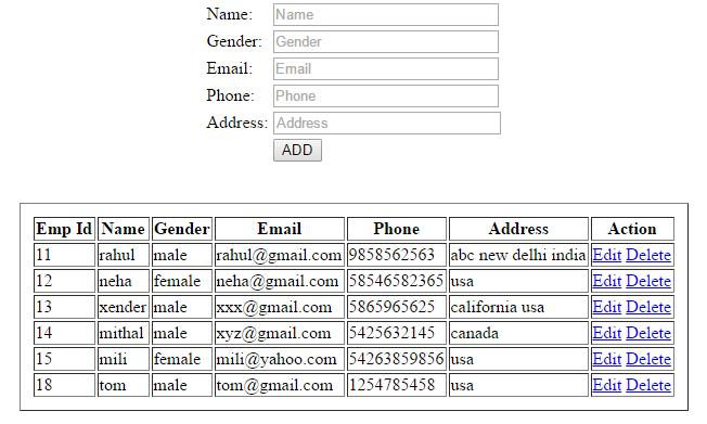 Delete Data from Database in CodeIgniter