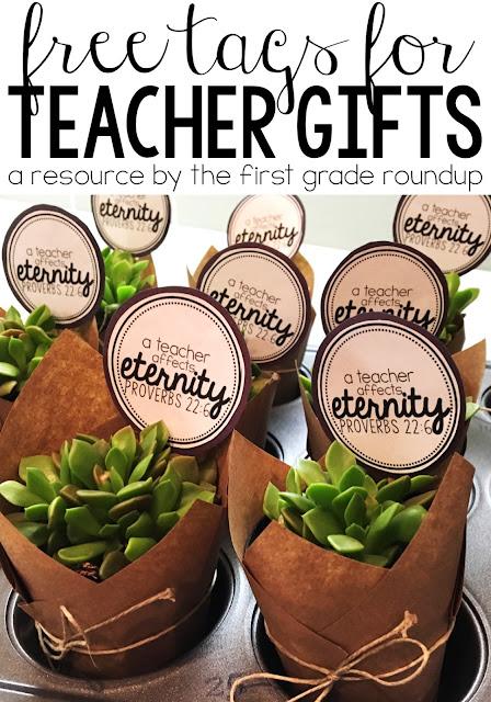 Teacher Appreciation Gift And Freebie Firstgraderoundup
