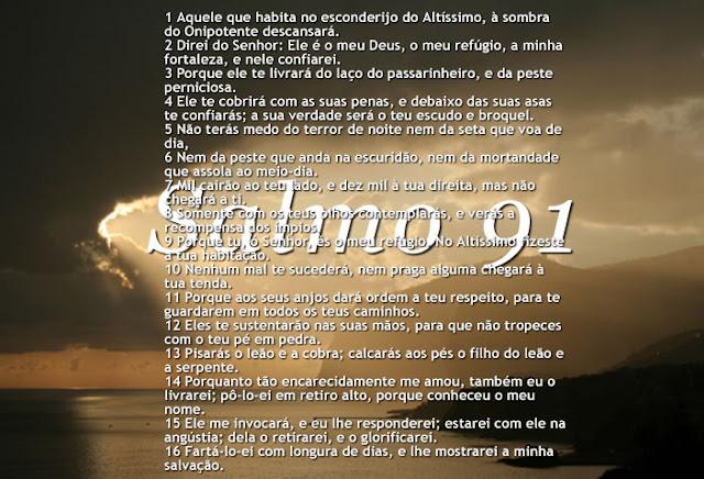 Versículo Bíblico De Proteção: SAIBA POR QUE O SALMO 91 É O MAIS PODEROSO ESCUDO DE