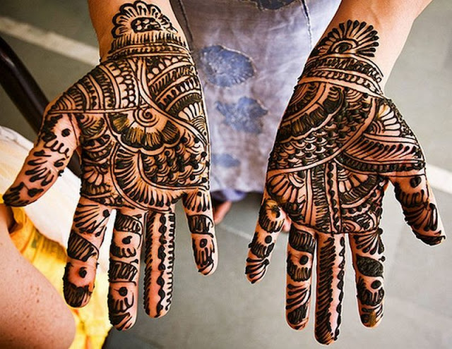 eid mehndi design photo for hands