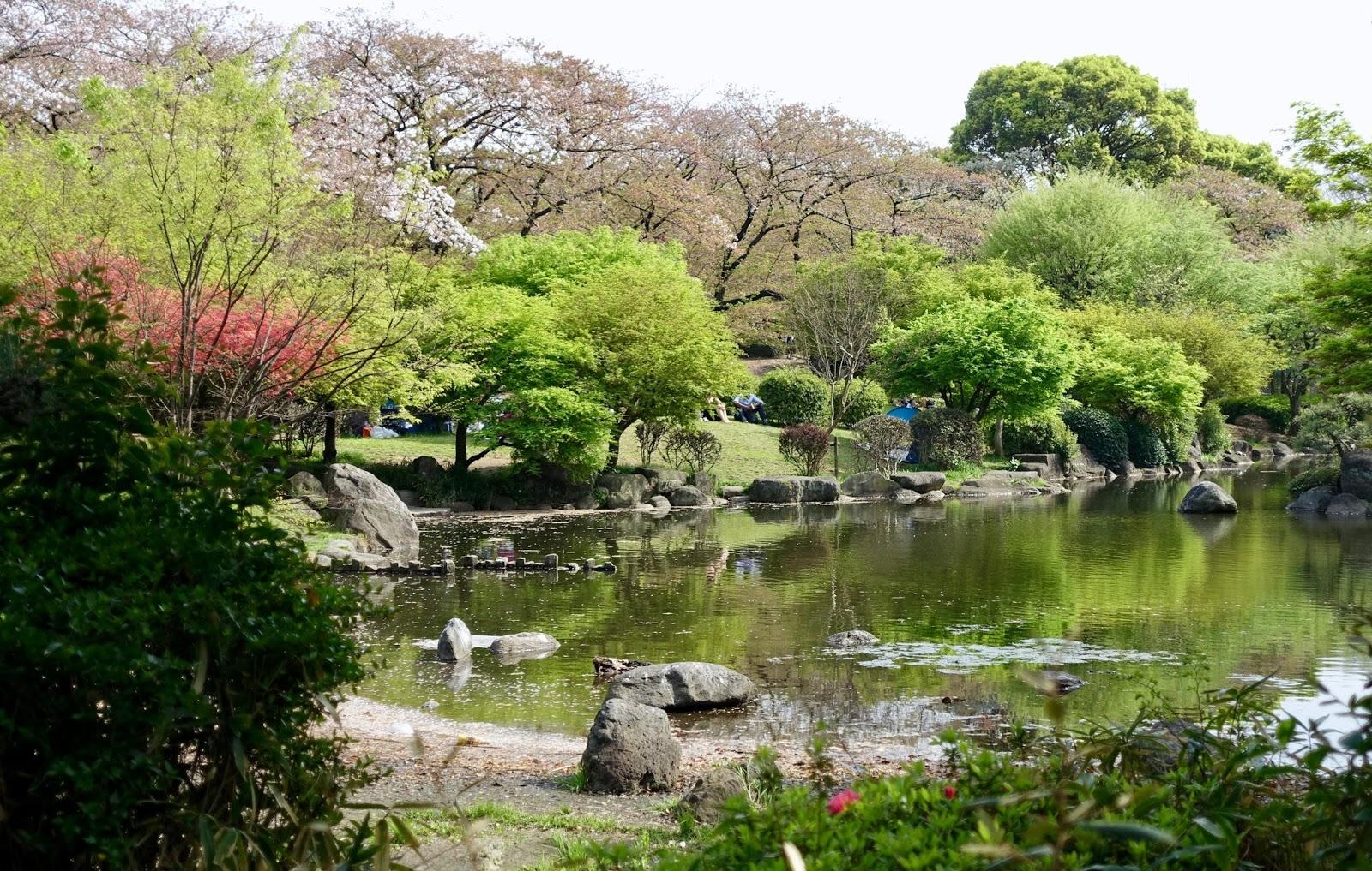 SUMIDA PARK TOKYO JAPAN
