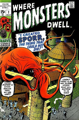 Where Monsters Dwell #2, Sporr, Taboo, Dragoom