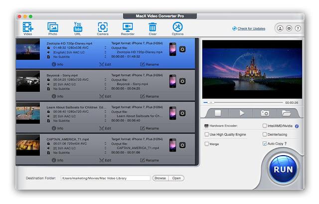 MacX Video Converter Pro - Screenshots 2