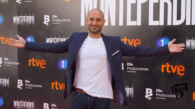 La Caza Monteperdio, Photocall, RTVE, La 1, Alain Hernández