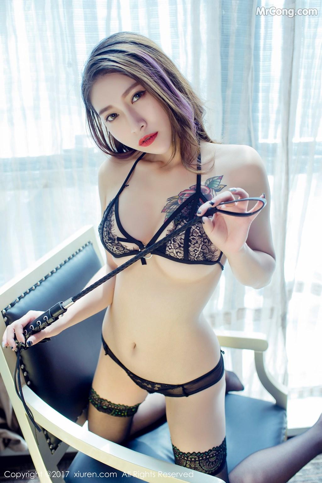 Image XIUREN-No.812-Du-Hua-Hua-MrCong.com-018 in post XIUREN No.812: Người mẫu Du Hua Hua (杜花花) (48 ảnh)