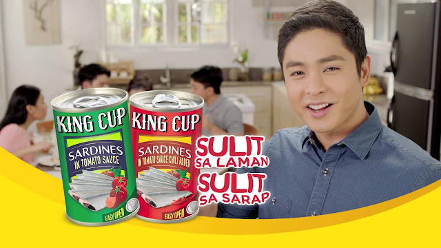 Coco Martin graced the annual Tindahan ni Aling Puring Convention for King Cup Sardines