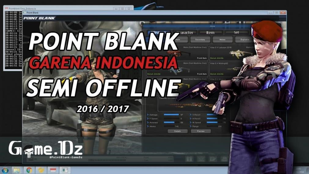point blank garena indonesia offline 2017