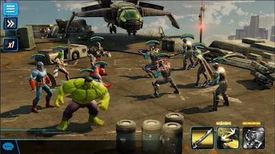 لعبة MARVEL Strike Force مهكرة للأندرويد، لعبة MARVEL Strike Force كاملة للأندرويد