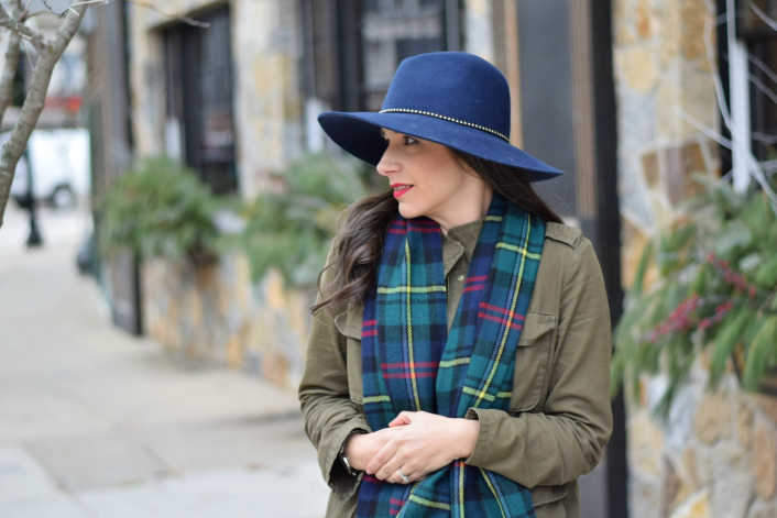 Target Fedora Winter Affordable Fashion for Teachers