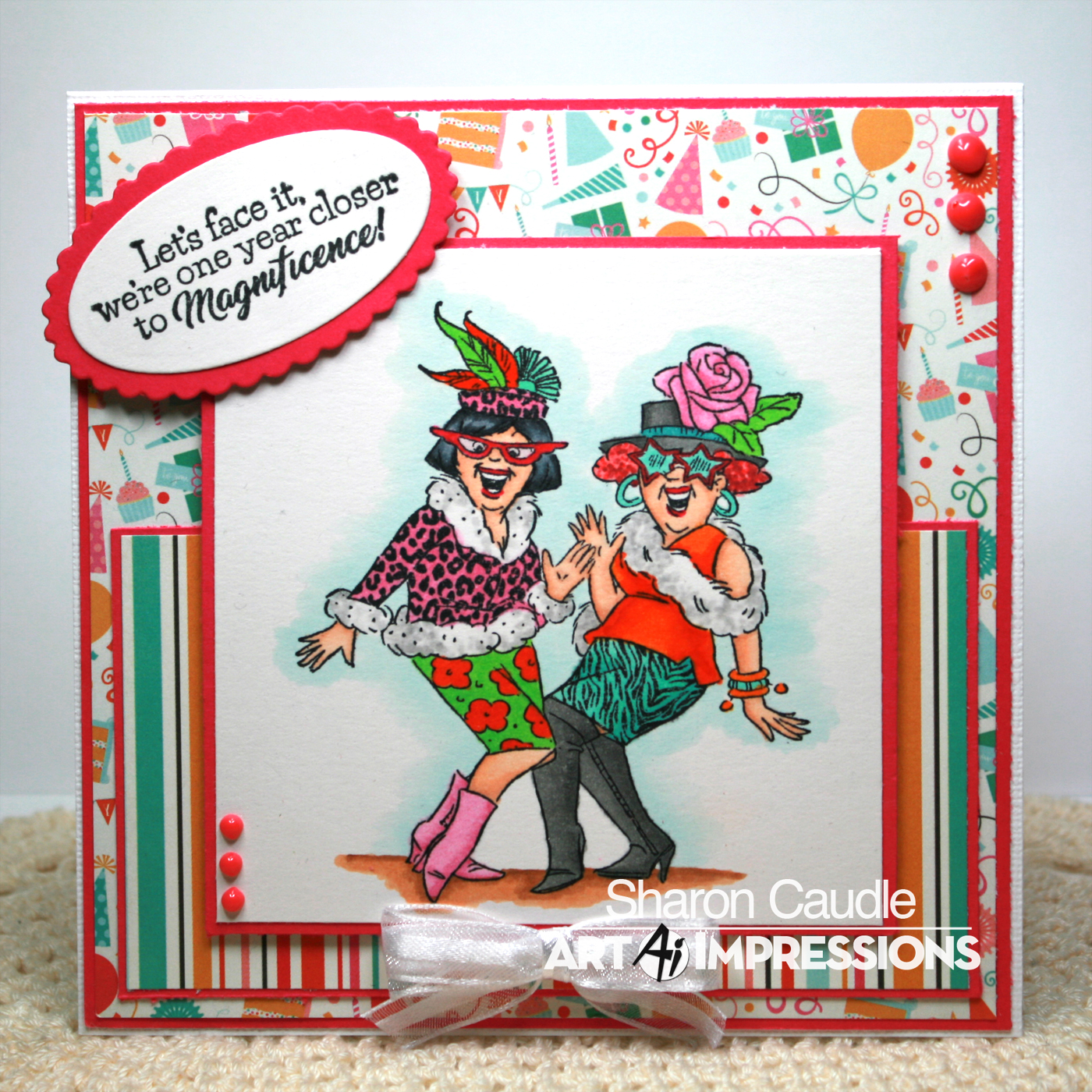 Please Be Sure And Pop Over To The Art Impressions Blog Check Out All Amazing Creations By Design Team Then We Hope You Grab Your Paper Glue