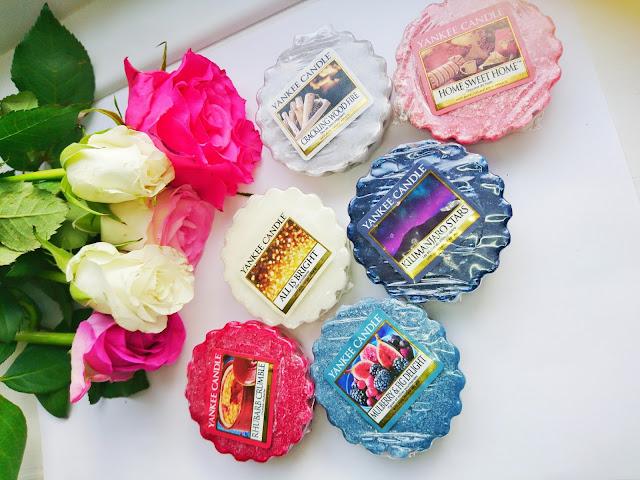 Zapachowe szaleństwa- woski yankee candle