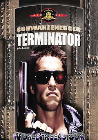 Poster Of The Terminator In Dual Audio Hindi English 300MB Compressed Small Size Pc Movie Free Download Only At worldfree4u.com