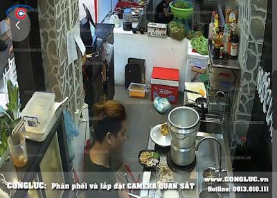 lắp camera wifi cho nhà hàng