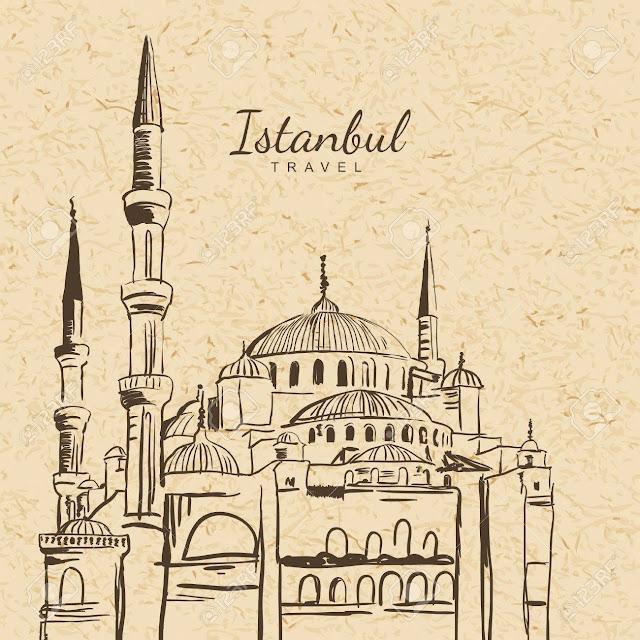 [土耳其/伊斯坦堡] 土耳其建築代表:藍色清真寺Blue Mosque / 蘇丹艾哈邁德清真寺Sultanahmet Camii
