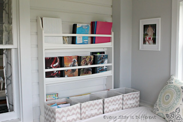 A Minimalist Montessori Home Tour: The Dining Room-School Storage