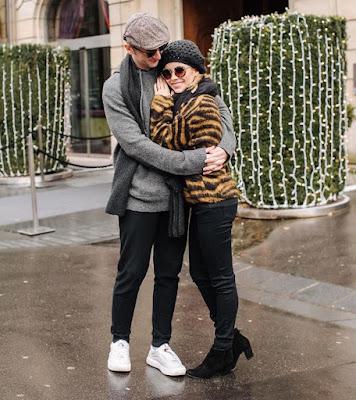 Que amor! Sandy e Lucas em Paris ♥ — Foto: Reprodução/Instagram