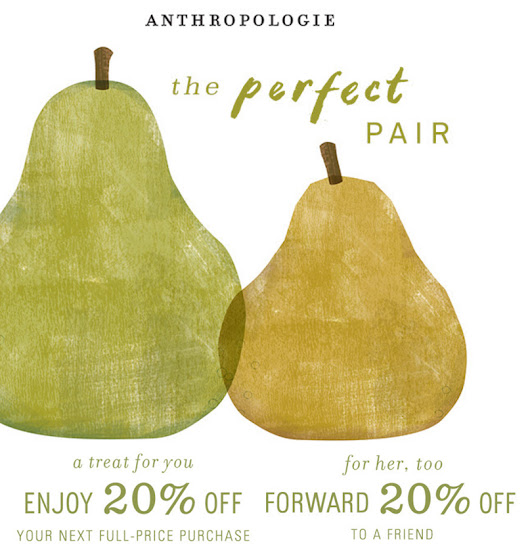 A double dose of Anthropologie treats!