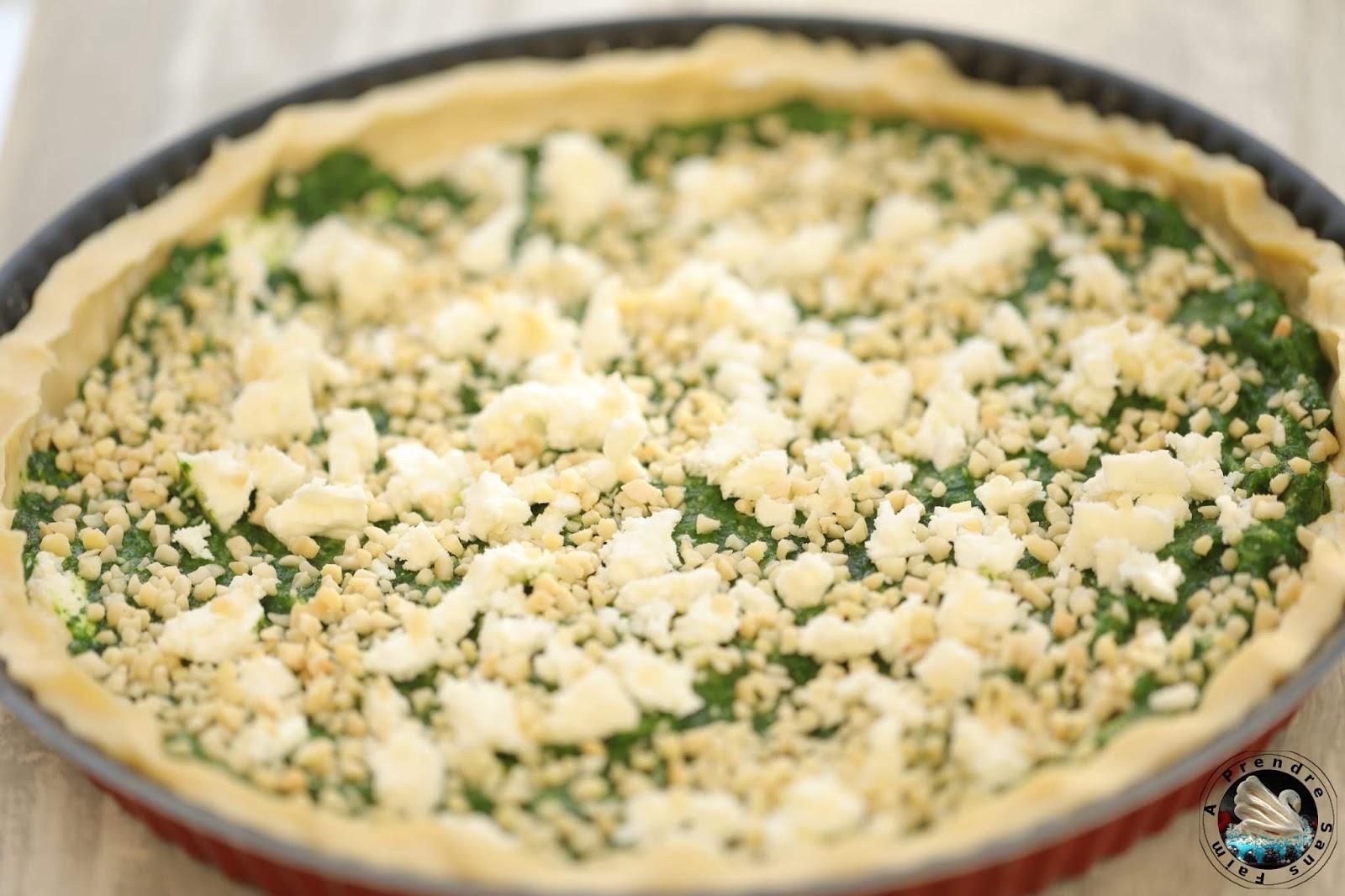 Tarte épinards feta