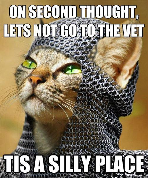 holygrailplace_fark miss cellania cats do monty python and the holy grail