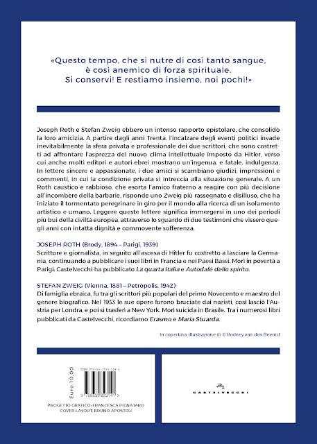 Bookcover Joseph Roth e Stefan Zweig - L'amicizia � la vera patria back