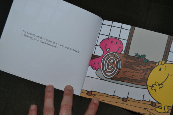 Mr Men - The christmas Party review from Egmont Publishing @ ups and downs, smiles and frowns