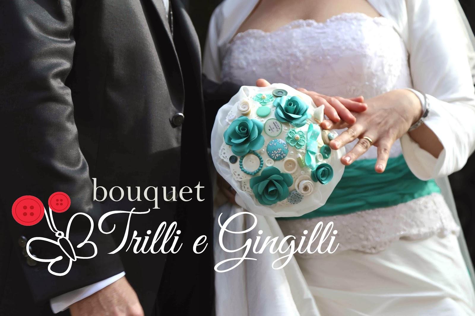 abbastanza Trilli e Gingilli - Le creazioni di Sara: Bouquet color tiffany  QM24