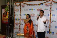 Marath Actrss Urmila Kanitkar Celetes Gudi Padwa in Orange Saree 23.JPG