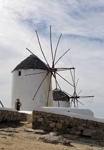 Windmills at Kato Mili