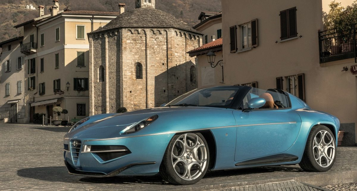 Alfa Romeo Disco Volante Spider cực đẹp và trẻ trung