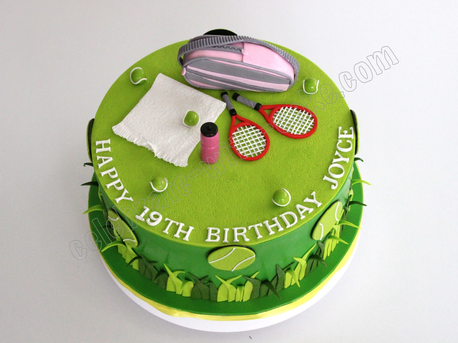 Birthday Cake Table Tennis
