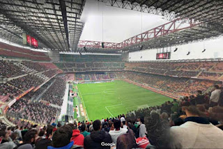 Stadio Giuseppe Meazza (San Siro) is a football stadium which is the home of A.C. Milan and Inter Milan