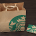 DIY Paper Wallet by using Starsbuck Paper Bag