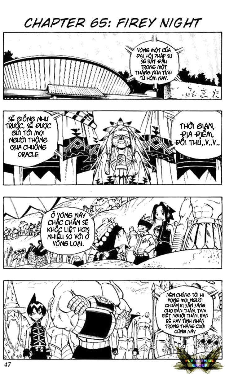Shaman King [Vua pháp thuật] chap 65 trang 2